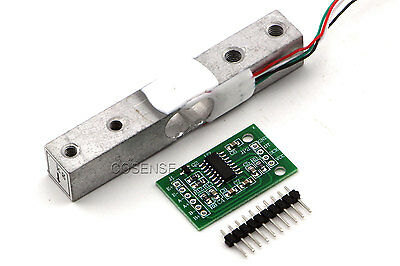 10KG Scale Load Cell Weight Weighing Sensor + HX711 AD Module