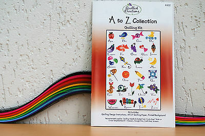 "Quilling Vorlage ""A bis Z Collection"""