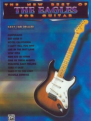 The Eagles - New Best Of For Easy Guitar TAB Book *NEW* Sheet Music, Songs