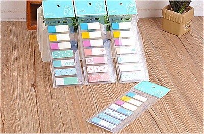 140pages PVC + Paper Memo Stick/ Post-it note/ Sticky Memo Paper