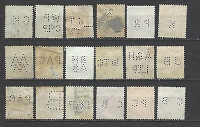 British Edward 7th onward stamps collection of perforated stamps gb super mix