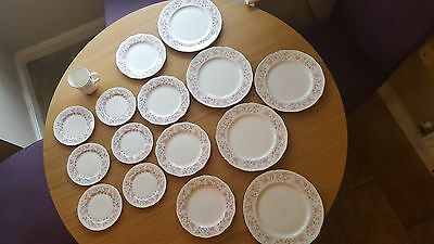 Vintage Colclough Bone China 16 piece set