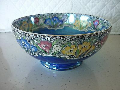 Maling Crocus 21.5cm footed bowl