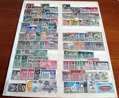 90 British Commonwealth Fine Used Stamps, Includes Older Issues, Good Selection.