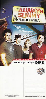 Tv Its Always Sunny In Philadelphia Fx Network Advertising Colour  Postcard