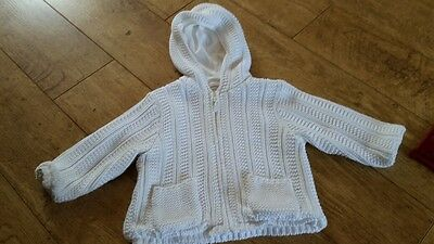 Baby jacket / cardigan age 9-12 months