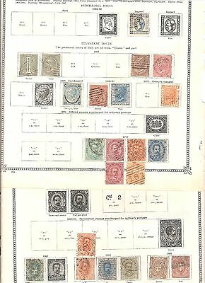 Italy early stamp collection 5 scans
