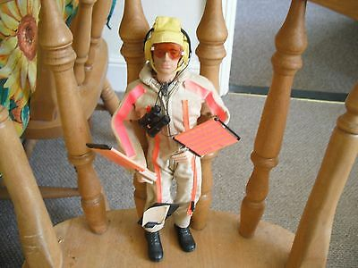 vintage action man landing signal officer action figure