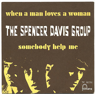 SOLO COPERTINA - COVER ONLY - THE SPENCER DAVIS GROUP - Somebody help me  ITA EX