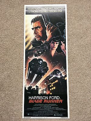 Blade Runner US Insert Movie Poster 'Minty White' Reproduction