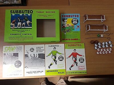 1960s Subbuteo Continental Display Edition