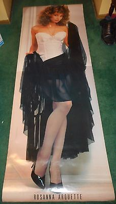 Rosanna Arquette - Original Single-Sided Personality Door Panel Poster