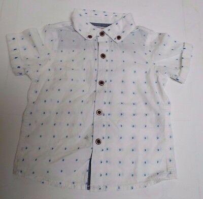 Baby boys NEXT shirt short sleeve age 6 9 12 18 months 2 3 4 5 years NEW
