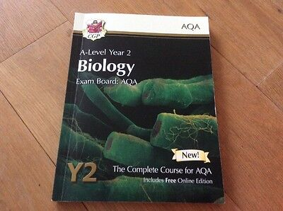 AQA Biology A level Y2 The Complete Course Y2