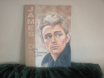 James Dean An American Icon Tin Metal Sign Laminated Poster Picture