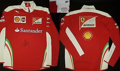 Ferrari F1 Puma Team Issue Rare Jumper Size M/l 48/50 Genuine Free P&p Formula 1