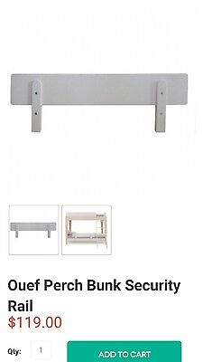 Oeuf furniture - bed or bunk bed safety guard rail