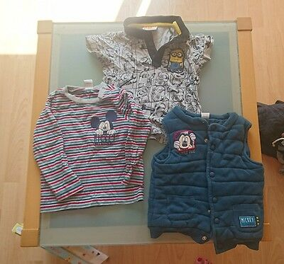 12 - 18 months boys summer clothes bundle