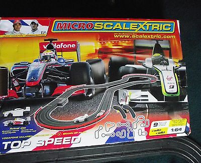 Micro Scalextric - F1 Top Speed - BOXED