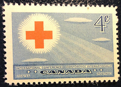 H317-1 Red Cross Conference 1952 Mnh Canada