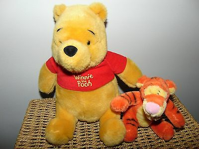 Bundle of Winnie The Pooh Bear & Tigger, COLLECTION OR WILL POST!