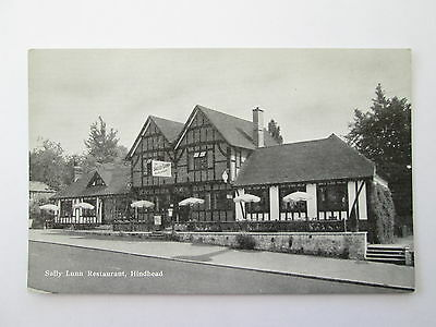 Old Postcard - The Sally Lunn Restaurant , Hindhead , Surrey .