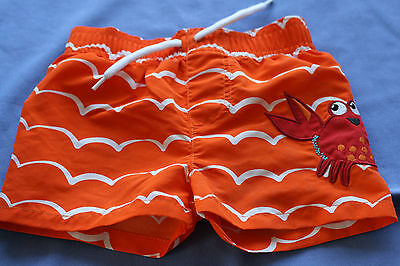 Mothercare Baby boy swimming trunks age 6 to 9 months - used