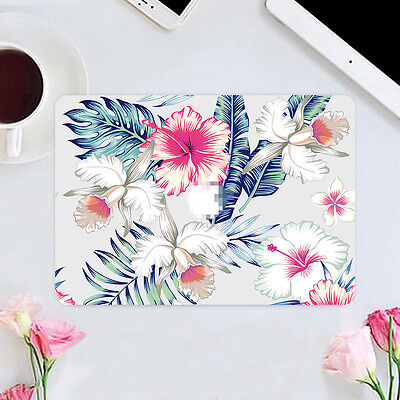 Beautiful White Flower Fresh Decal Sticker Cover for Mac Macbook Air Pro Retina