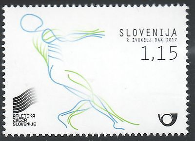 Slowenien Slovenia 2017 MNH sport athletics Great Britain London  United kingdom