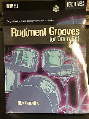Rudiment Grooves for Drums Set, Rick Considine, With CD