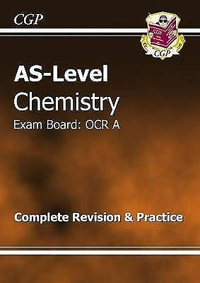 AS-Level Chemistry OCR A Complete Revision & Practice by CGP Books (Paperback, …