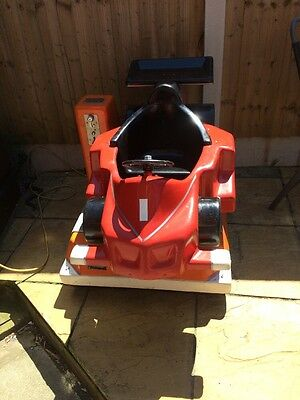 Coin Operated Racing Car
