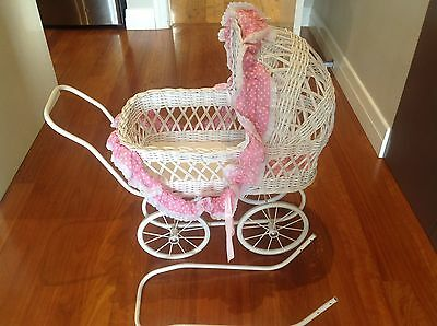 Charming Dolls' Stroller and Cradle