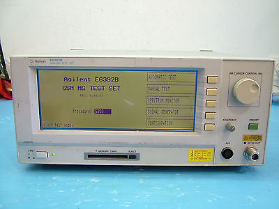 Agilent E6392B GSM test set fully tested