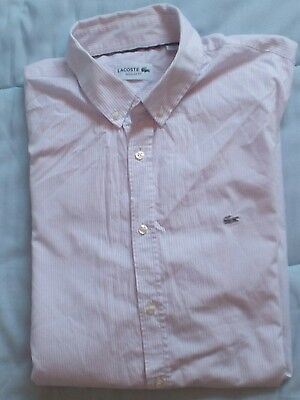 chemise homme lacoste