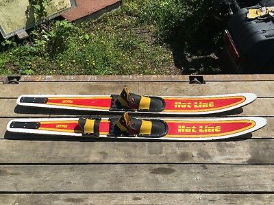 Veteka Sports Hot Line Wooden Water Skis