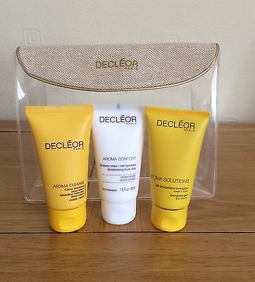 Decleor set with bag. all 50 ml and new