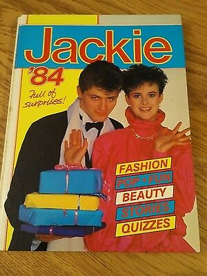 Jackie 1984 Annual Good Condition Children's Book
