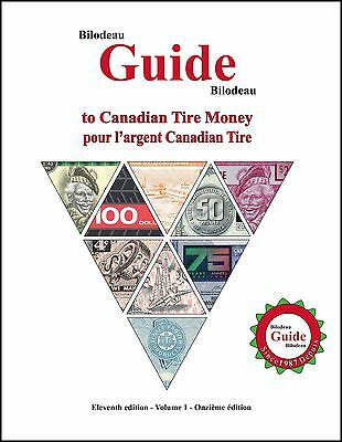 New Vol. 1 - 11th Edition - Bilodeau Guide to Canadian Tire Money