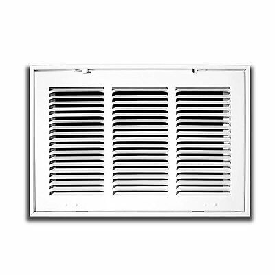 """20"""" x 36"""" Steel Return Air Filter Grilles - Fixed Hinged - Cieling Recomended -"""