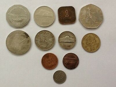 Collectable British and foreign coins