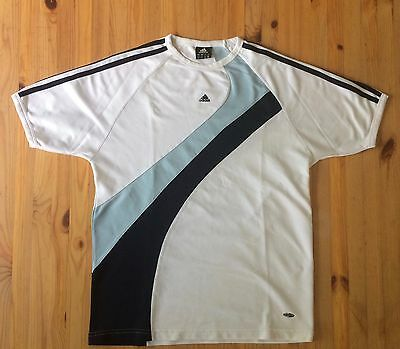 T-shirt ADIDAS sport homme Taille L blanc