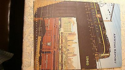 Pennsylvania Railroad Annual Report 1960 Nice