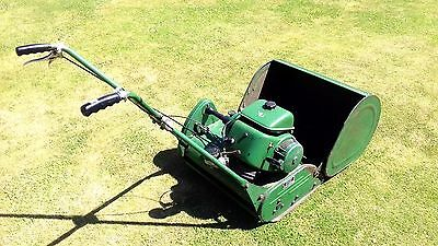 "Ransomes self propelled 20"" Marquis cylinder  Mower & grass box bowling green"