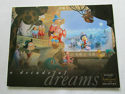 "WDCC ""A Decade Of Dreams"" 2003 catalog Katalog  Walt Disney"