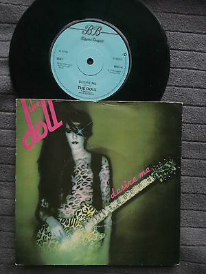 """THE DOLL Desire Me UK Beggars Banquet 7"""" picture sleeve vinyl record punk"""
