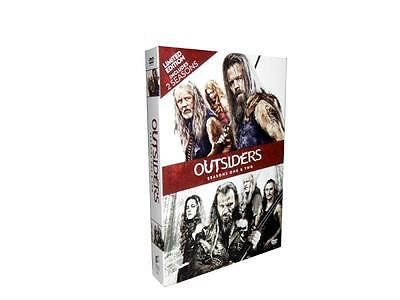 Outsiders: Seasons 1& 2 One and Two (DVD, 2017, 8-Disc Set)