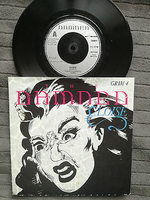"""THE DAMNED Eloise UK MCA 7"""" picture sleeve vinyl record punk"""