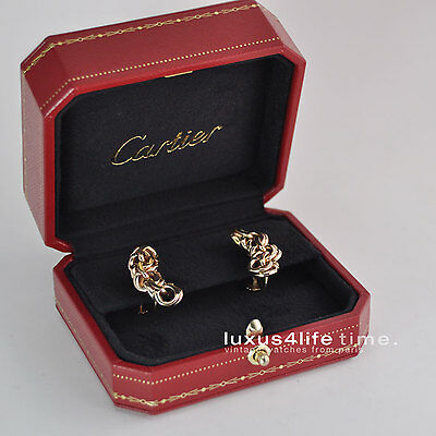 "Cartier vintage Ohrringe ""Gypsy"", alte Box, wunderschön, Collectors Item!"