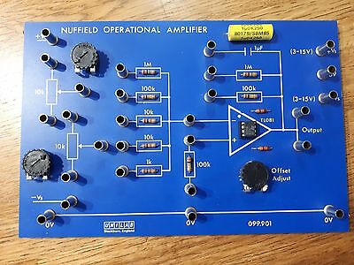 Nuffield Operational Amplifier